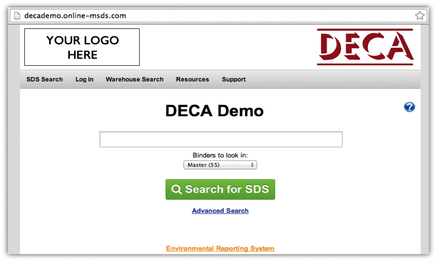 Online MSDS - Employee View
