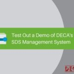 Test Out a Demo of DECA's Online SDS Management System